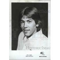 1976 Press Photo Seattle Seahawks football quarterback, Jim Zorn - sps04966