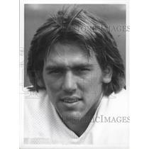 1977 Press Photo Quarterback Jim Zorn of the Seattle Seahawks football team