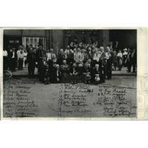 1914 Press Photo 25th Anniversary of Spokane Volunteer Fire Depart. 1886-1889.
