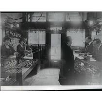 1919 Press Photo Interior of  Second store, Weisfield & Goldberg Jewelry Store