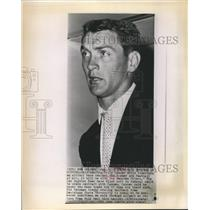 1960 Press Photo Billy Cannon hopes Rams trade him to Houston Oilers - sbs06052