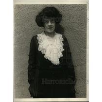 1923 Press Photo New York Poet Laureate of Oklahoma Arrives in New York NYC