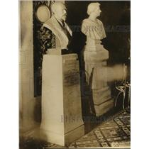 1922 Press Photo New York Bust of Lord Bryce Unveiled in Washington D.C. NYC