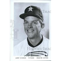 1966 Press Photo Larry Dierker, Pitcher for the Houston Astros - sbs06194
