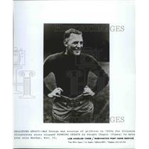 "1920 Press Photo 1920s football star, Harold ""Red"" Grange - sps05669"