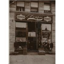 1895 Press Photo Historic View of Exterior Dempsey's & Co., Spokane, Washington