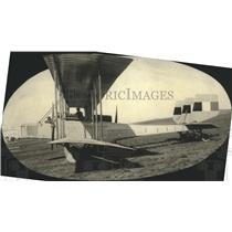 1918 Press Photo Side View of Liberty Caproni, Italian Bomber Plane - ney27155