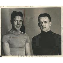 1933 Press Photo Mike De Filippo, Fioravanti Baggio - ney27193