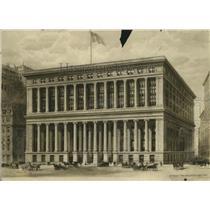 1908 Press Photo National City Bank in New York City - mja73850