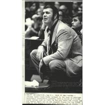 1975 Press Photo Indiana Pacers basketball coach, Bobby Leonard - sps06450