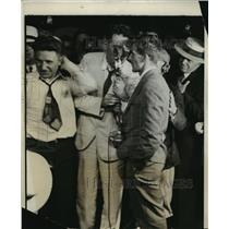 1931 Press Photo New York Harold Gatty and Wiley Post arrived at Roosevelt Field