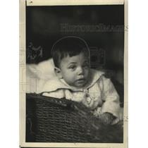 1919 Press Photo Lisa Wentz's Baby - neo08975