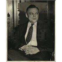 1936 Press Photo Dayton Dean State Witness Black Legion - neo11448