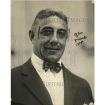 "1922 Press Photo Robert Spero ""Uncle Robert"" of New York - neo12740"