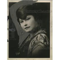 1924 Press Photo Soledad Gonzales of Mexican Revolution - neo13946