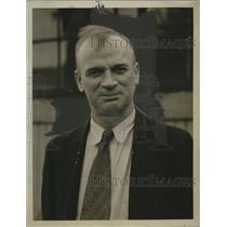 1922 Press Photo John Olchon of Mechanic Union - neo14282