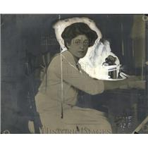 1909 Press Photo Ms Crystal Lartman Benedict - neo15265