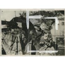 1926 Press Photo John D Rockefeller in Ormond Beach, Florida - neo15585