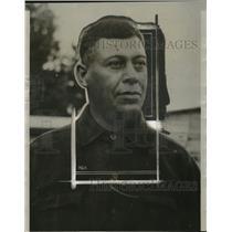 1928 Press Photo John La Rocque, Chippewa Indian Guide for President Coolidge
