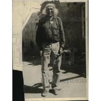 1926 Press Photo Toomkah Pueblo indiana near Santa Fe New Mexico - neo19945
