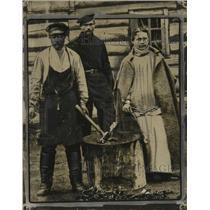 1912 Press Photo Russians - neo20260