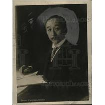 "1919 Press Photo ""Rockefeller of Japan"" Baron Nitsui, Potential New Ambassador"