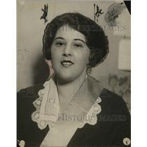 1921 Press Photo Ms Madeline Jacobs, Smith College, League of Women Voters