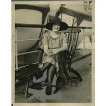 1922 Press Photo Jene Hutchison Canadian Swimmer - neo22927