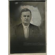 1926 Press Photo James Campbell Attends all Auditorium Theatre Performances W VA