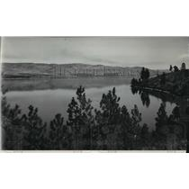 1939 Press Photo View of Lake Chelan in Washington - spa68805