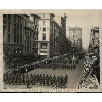1923 Press Photo NEW YORK'S SILVER JUBILEE PARADE NYC - neny23796