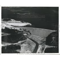 1961 Press Photo Alabama-Lewis Smith Dam - abnx01762