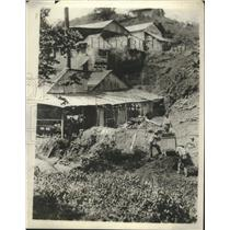 1930 Press Photo Mine house where miners were captured by Sandino - ney27916