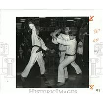 1988 Press Photo ATA Karate Connection - Greg Vogt, Bill McDonald, Steve Brice