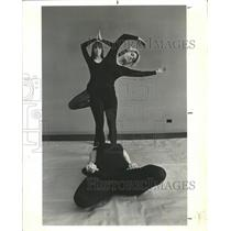 1969 Press Photo Advanced Yoga Students Show Postures - RRW44581