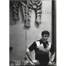 1984 Press Photo Wrestling coach, Brad Davis - sps06918