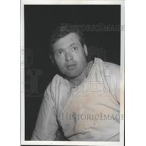 1971 Press Photo Hockey player Russ Gillow - sps07037