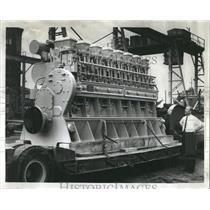1965 Press Photo Diesel Engines - RRW53773