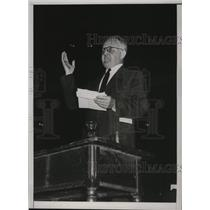 1935 Press Photo New York John Mooney, Communist at Madison Square Garden NYC