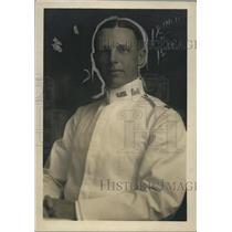 1922 Press Photo Colonel W.J Barden of the US Army Engineer Corps, Florence, AL