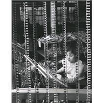 1965 Press Photo Honeywells electronic computer cables - RRW40597