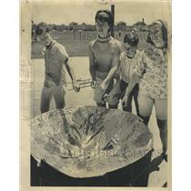 1965 Press Photo Solar Furnace Cooks Hot Dogs - RRW51907