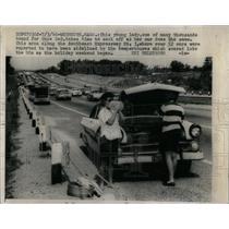 1966 Press Photo Cars Overheat Rt 3 - RRW63331