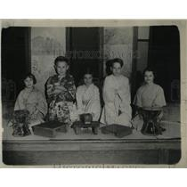 1934 Press Photo Wyman School Students Playing Chicago