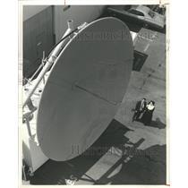 1968 Press Photo Antenna dish Sister Cecilia Botcher - RRX86731