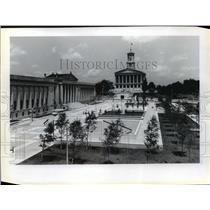 1981 Press Photo Tennessee's capitol, Nashville, Tennessee - mja85080
