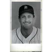 1986 Press Photo Detroit Tigers Lance Parrish - RRX38699