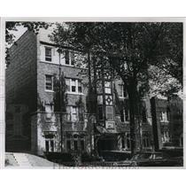 1962 Press Photo Apartment Building at 3014 West Pierce Street, Gambling/Crime