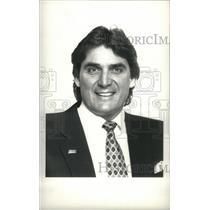 1988 Press Photo Dan Pastorini Drag Racer Football - RRX39257