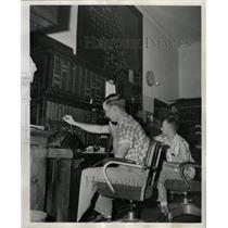 1957 Press Photo Mathew O'Brien and Jack Turner - RRX66155